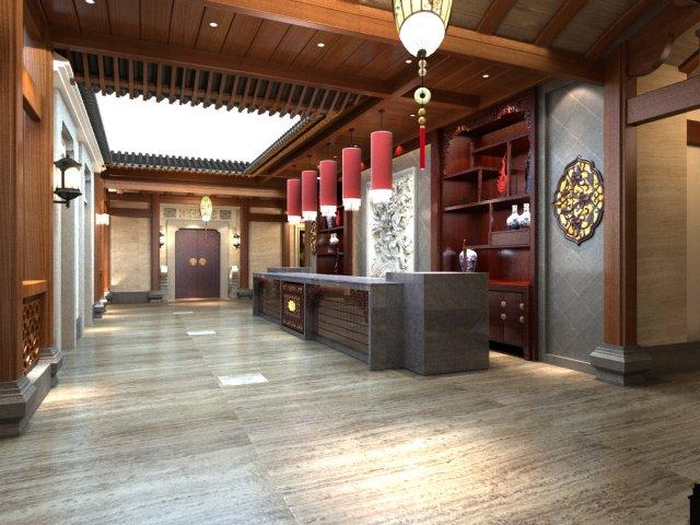 Lobby 015 3D Model