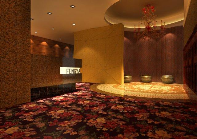 Corridor 015 3D Model
