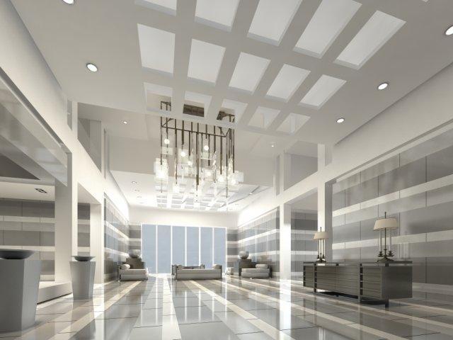 Lobby 055 3D Model
