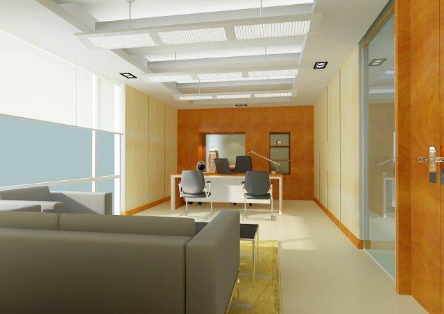 Office 015 3D Model