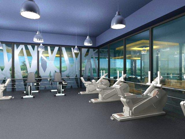 Gym 01 3D Model