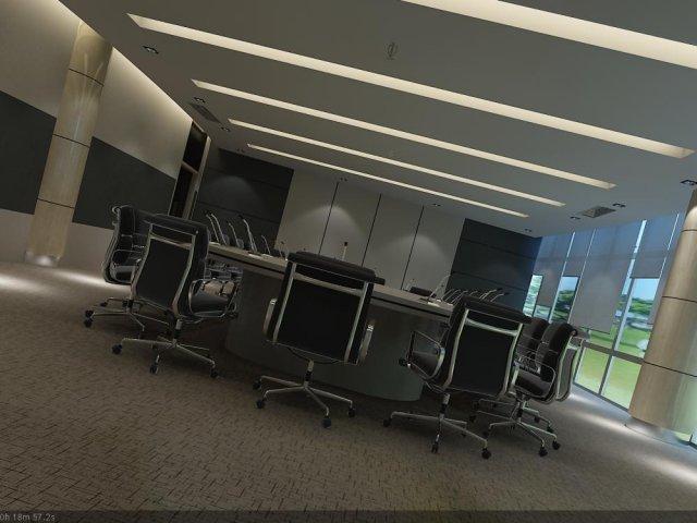 Conference Room 09 3D Model