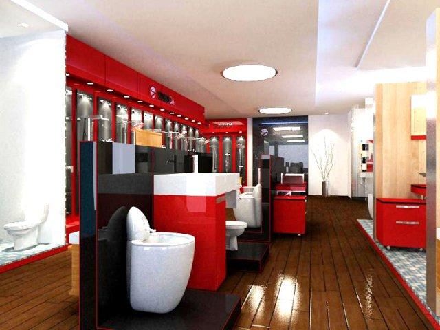 Home Furnishings Store 1 3D Model