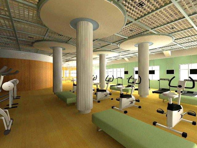 Gym 09 3D Model