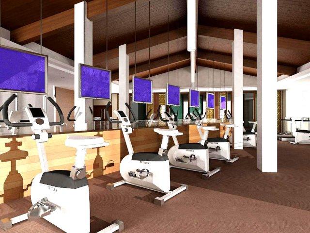 Gym 11 3D Model