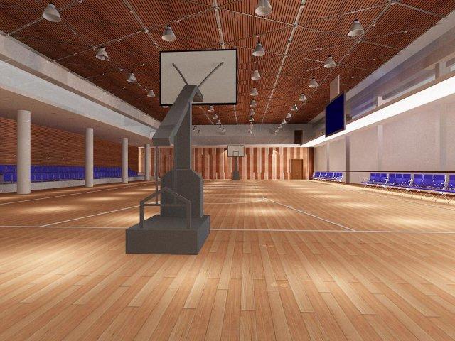 Gym 12 3D Model