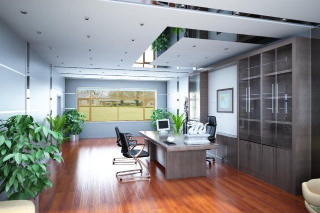 Office spaces 058 3D Model