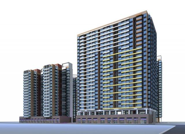 Architecture 033 3D Model
