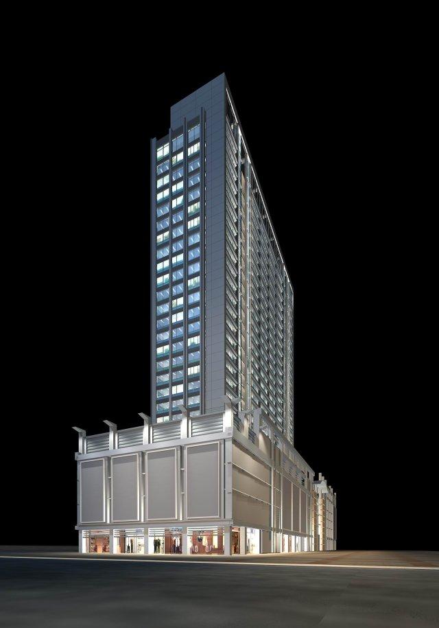Architecture 055 3D Model