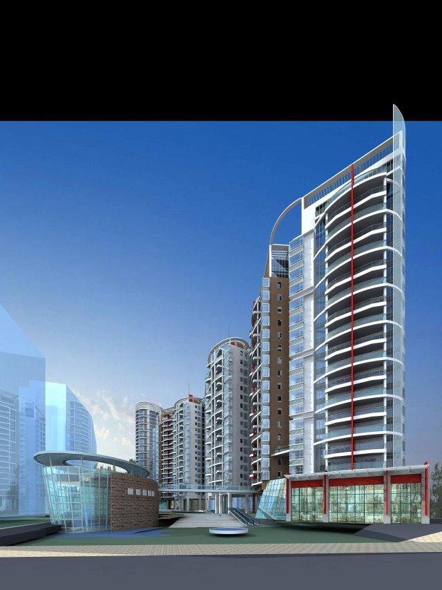 Architecture 167 3D Model