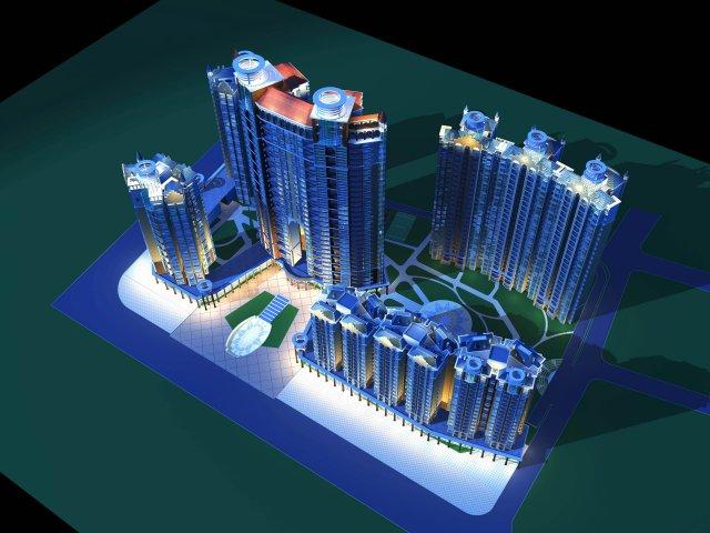 Architecture 172 3D Model