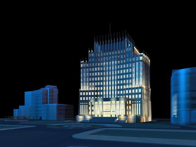 Architecture 181 3D Model