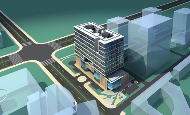 Architecture 276 3D Model