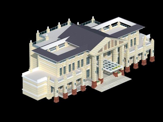 Architecture 716 3D Model