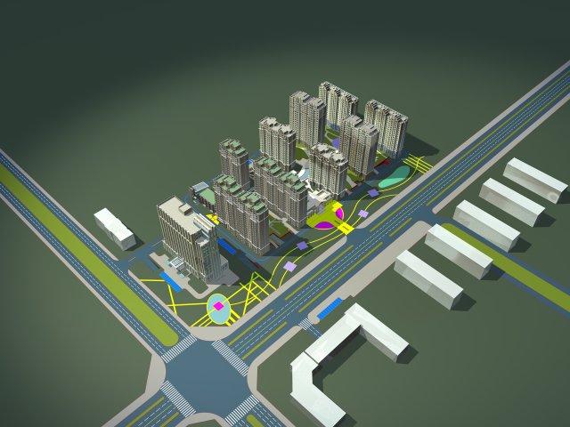 Architecture 717 3D Model