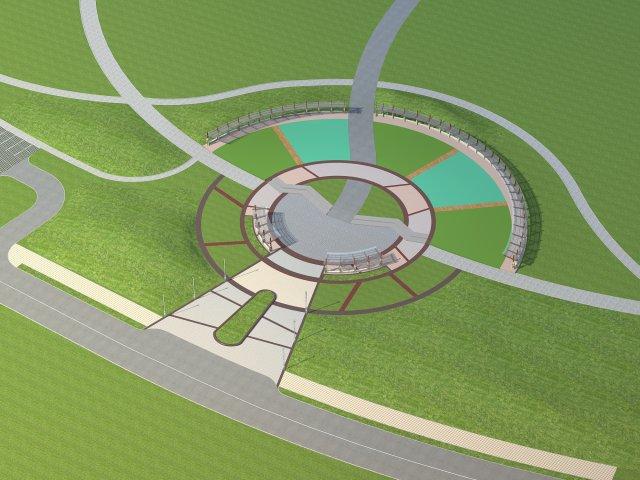 Architecture 742 3D Model