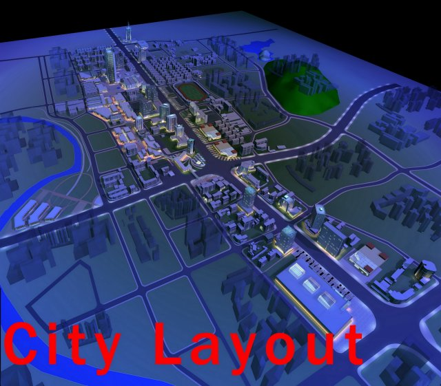 Urban Design 015 3D Model