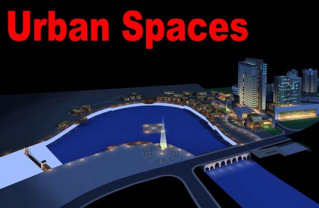 Urban Design 048 3D Model