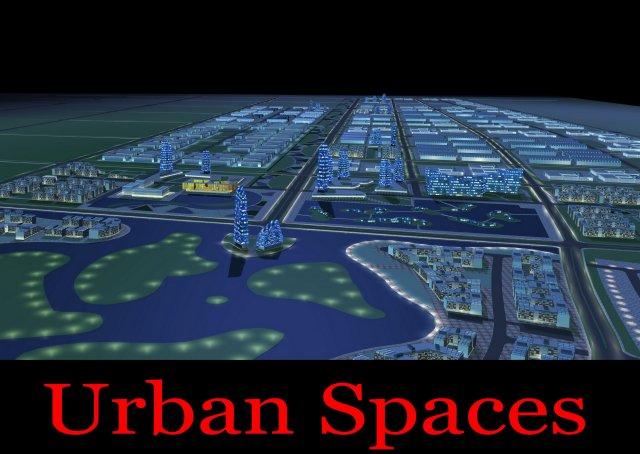 Urban Design 055 3D Model