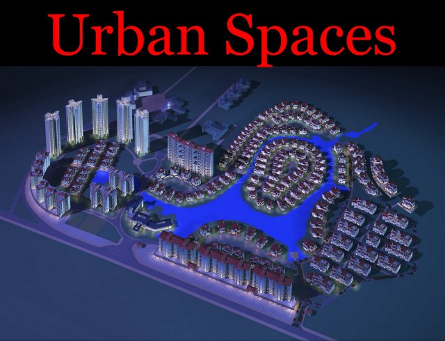 Urban Design 058 3D Model