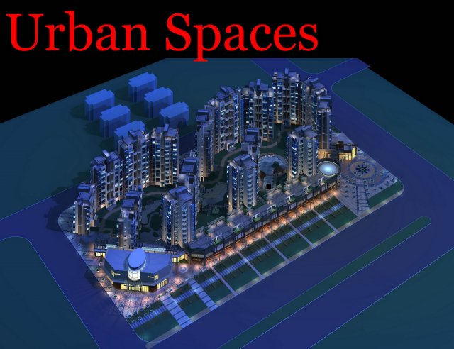 Urban Design 061 3D Model