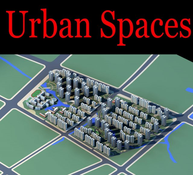 Urban Design 150 3D Model
