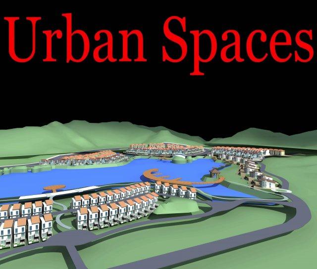 Urban Design 172 3D Model