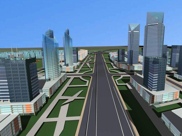 Building 167 3D Model