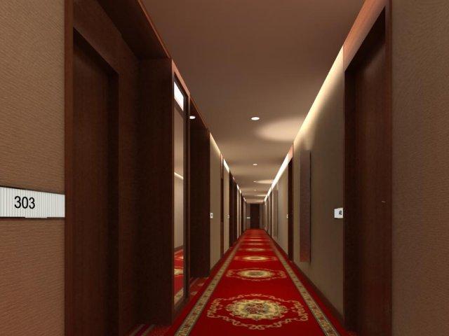 Corridor 048 3D Model