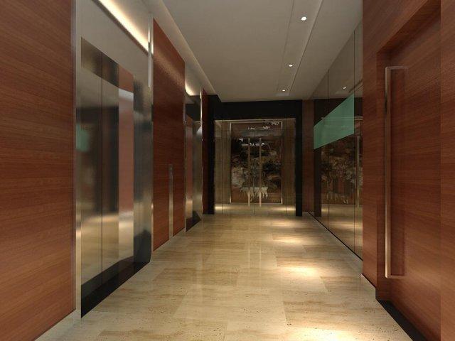 Corridor 061 3D Model