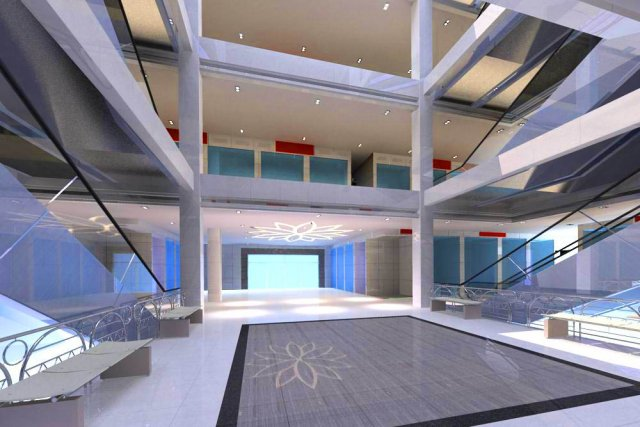 Lobby 061 3D Model