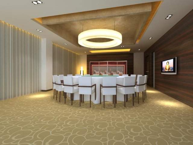 Private Room 015 3D Model