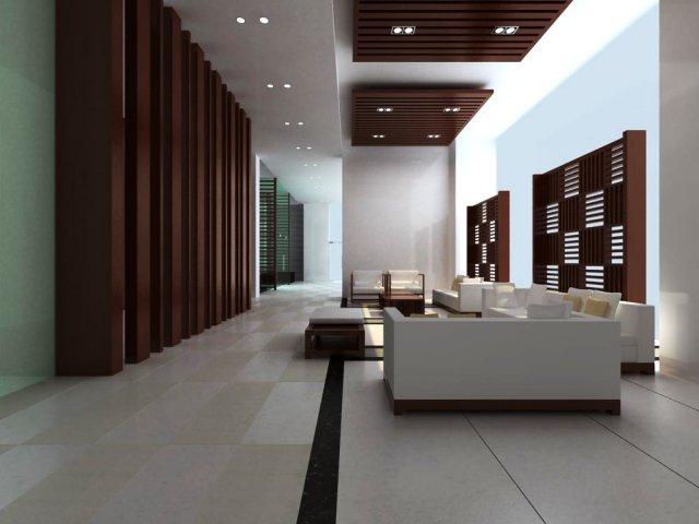 Reception Space 033 3D Model