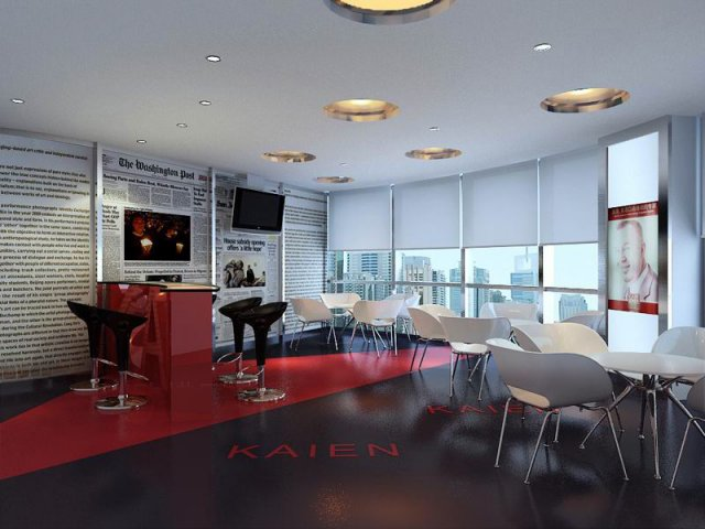 Reception Space 048 3D Model