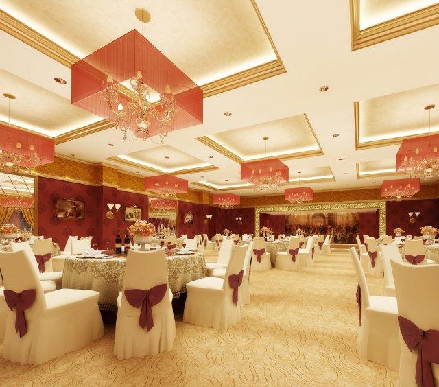 Restaurant 093 3D Model