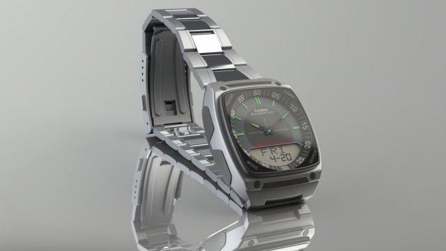 Casio AW81 3D Model