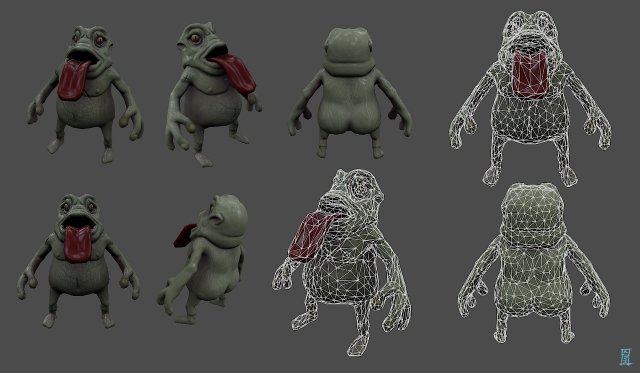 The Tortoise Hunter 3D Model