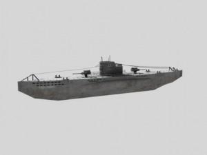 WWII Submarine Uboat