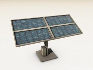 Low Poly Solar Panel