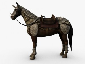 Horse with Armor