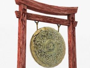 Ancient Asian Gong