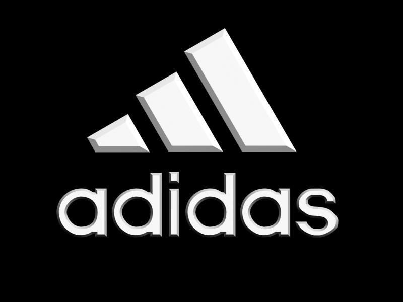 Adidas logo Modelo 3D in Otros 3DExport