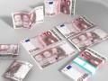 3D Model 10 Euro Paper Money