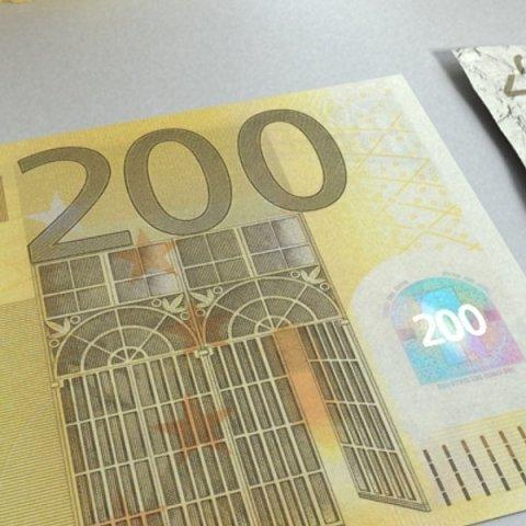 3D Model 200 euro Banknote 3D Model