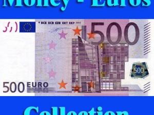 Texture Euro Money Collection