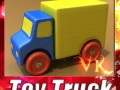 3d model of a Wooden Toy Truck