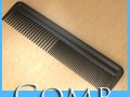 Black Comb High Detail Realistic