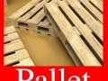 Photorealistic Wood Pallet High Res