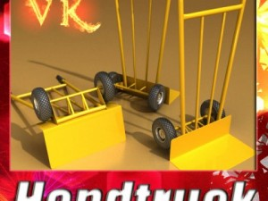 Hand Truck High Res Textures