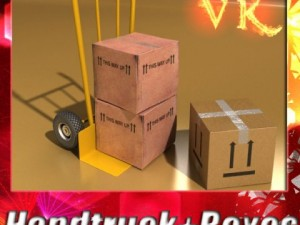 Hand Truck  Cartons High Res